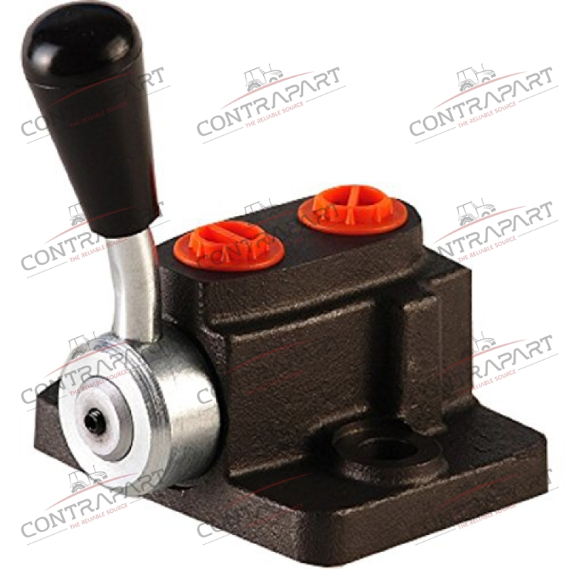 Hydraulic 3 Way Selector/Diverter Valve. 2 Ports (3/8