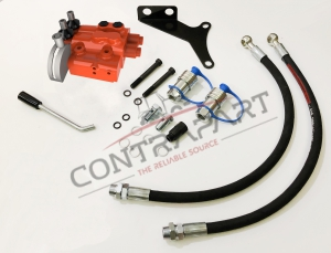 Hydraulic Remote Control Valve  Kit 2 Ports + Hydraulic Control Red CTP330031