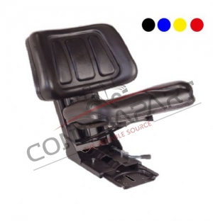 CTP-108 Tractor Seat With Backrest Sliding Base  CTP350007