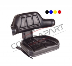 CTP-111 Forklift Seat With Armrest With Suspension Stroke 80 mm CTP350009
