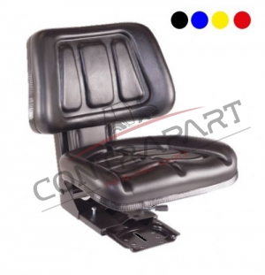 CTP-104 Tractor Seat With Backrest Sliding Base CTP350003