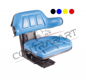 CTP-103 Tractor Seat With Armrest Sliding base (Fore and Aft Adjustment 150 mm)  CTP350002