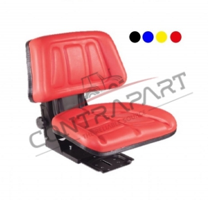 CTP-118 Tractor Seat With Backrest Sliding base CTP350013